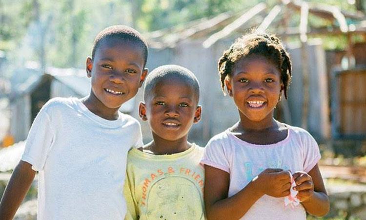 cute children in Haiti