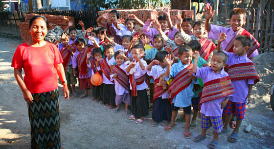 These Burmese orphans love Jesus