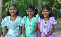 Sri Lankan Sweethearts at Girls Orphanage